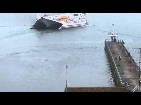 Condor vitesse departing Weymouth 31st oct 2014