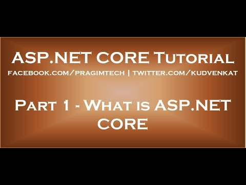 What is ASP NET Core