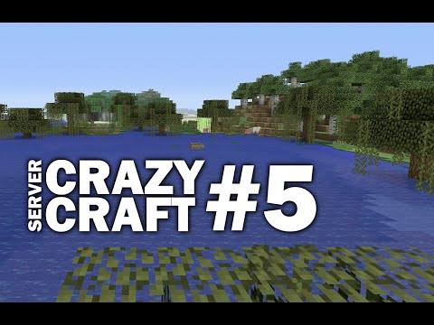 Minecraft PS4 - SLIME STATION #5 CRAZY CRAFT SERVER ( PS3 / XBOX )