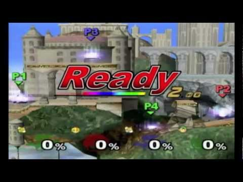 Super Smash Bros. Melee | Super Scope + Black Holes Glitches