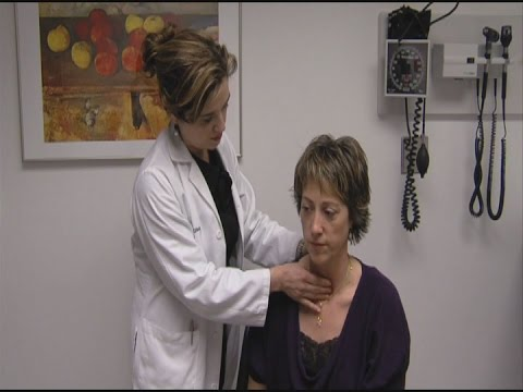 Check your neck for thyroid nodules