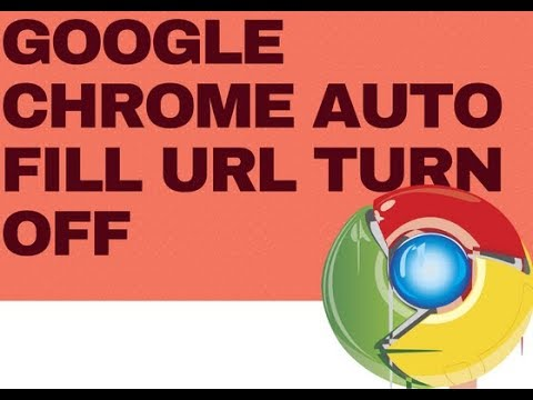 How To Turn Off Google Chrome Auto Fill URL Prediction/By Tech X Prime