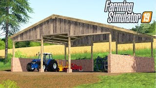 SNOW CLEARANCE Realistic Farming Simulator 17 Dusty Cove Day