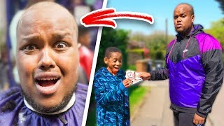 Saying Yes To EVERYTHING For 24 Hours Challenge! (Went Bald)