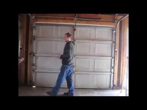 Aluminum Sectional Garage Door Removal