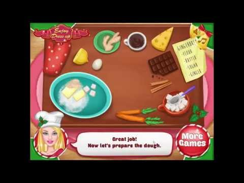 Ellie Gingerbread House Decoration game - Chipgames.net
