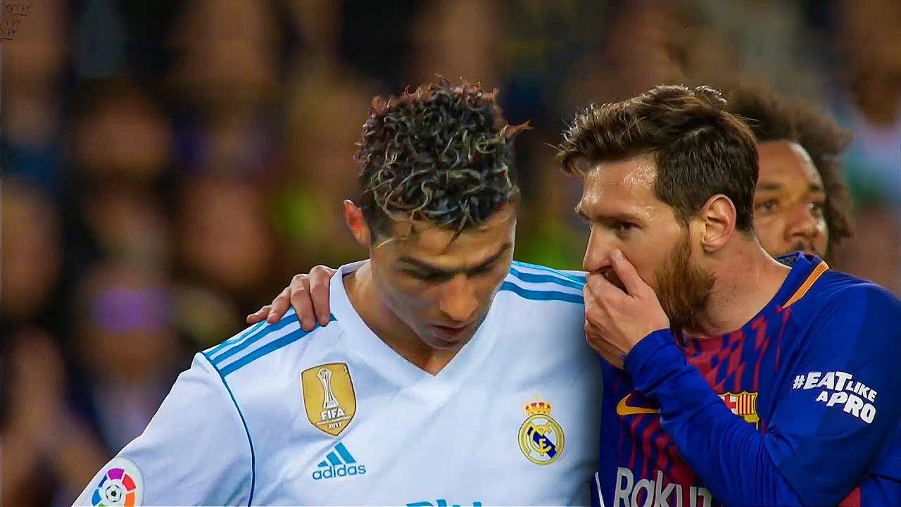 The Last El Clasico Between Cristiano Ronaldo & Lionel Messi