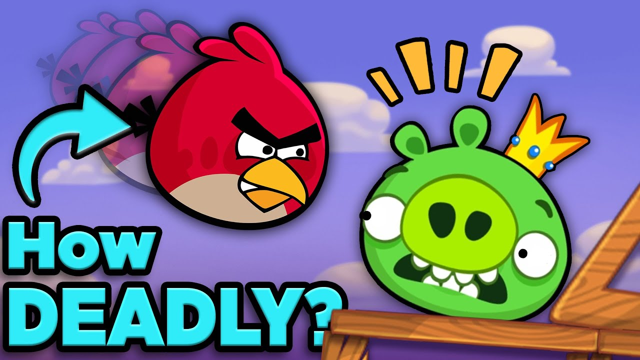 How Deadly is an Angry Bird?   The SCIENCE of... Angry Birds