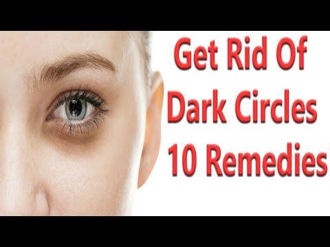 10 Remedies To Get Rid Of Dark Circles Fast