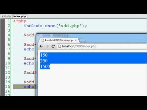 Object Oriented Programming Basics: PHP
