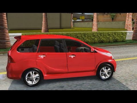 Toyota Avanza Veloz 2012 V 1.1 - GTA San Andreas 1440p / 2,7K