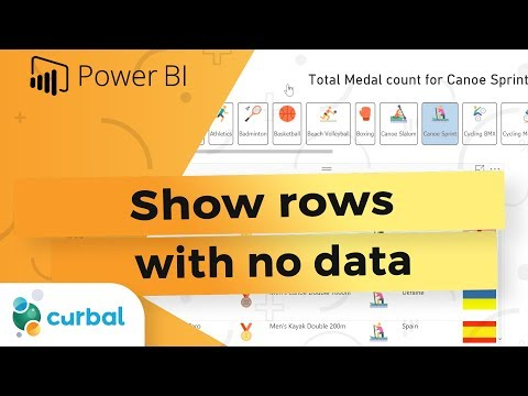 Show rows with no data - Power BI Tips & Tricks #33