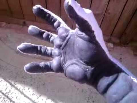 Silicone glove test