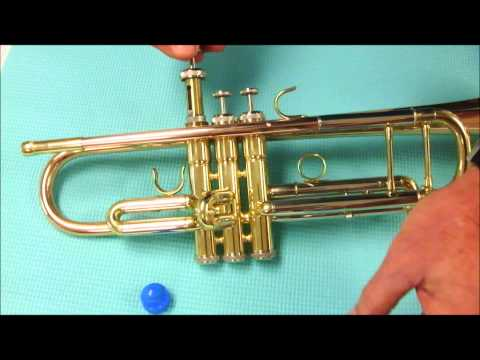 How to lubricate trumpet valves with Synthetic Oil