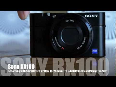 Sony RX100 - AF Testing, Clear Image Zoom Demo, and More...