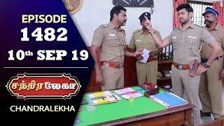 CHANDRALEKHA Serial   Episode 1482   10th Sep 2019   Shwetha   Dhanush   Nagasri   Arun   Shyam