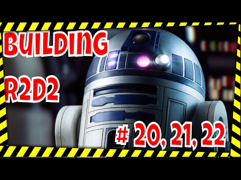 DeAgostini Build your own R2D2 # 20-22
