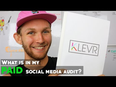 What is in my PAID social media audits?
