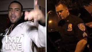 French Montana Taunts NYPD | TMZ Live