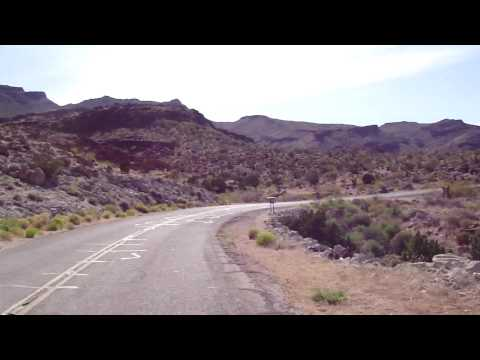 Westbound Historic Route 66 - Oatman Highway