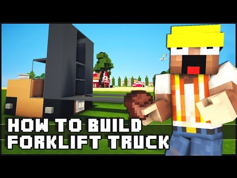 ► Minecraft : How to Make - Forklift Truck