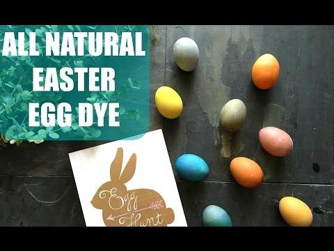 All Natural Easter Egg Dye   Vegetables and Tea!