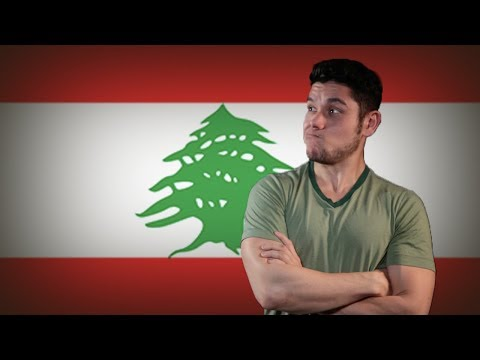 Flag/ Fan Friday LEBANON (Geography Now!)