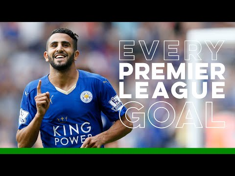 Riyad Mahrez: Every Premier League Goal