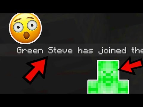 MINECRAFT: WE FOUND GREEN STEVE (NEW HEROBRINE)(Ps3/Xbox360/PS4/XboxOne/WiiU)