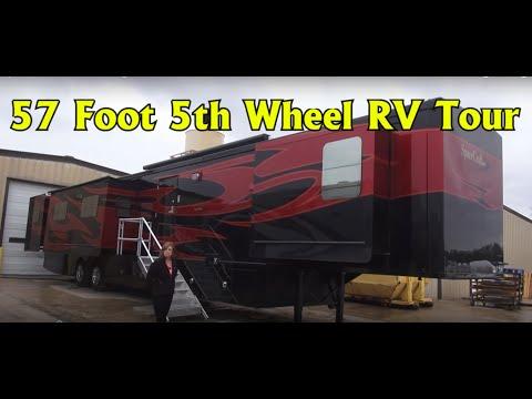 Spacecraft RV Manufacturing 57 foot Custom 5th Wheel RV Coach