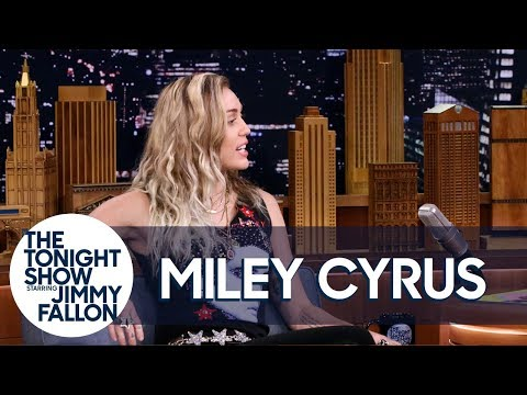 Miley Cyrus Reveals Why She Opened Tonight Show with Dido's