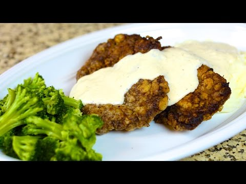 Chicken Fried Steak with Cream Gravy Recipe