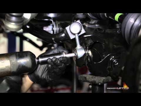 ReadyLIFT Toyota Tundra Lift Kit Installation