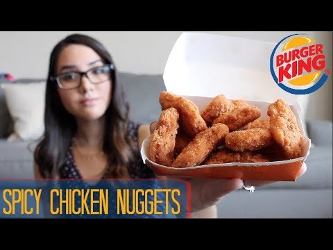 Burger King Spicy Chicken Nuggets - Food Review