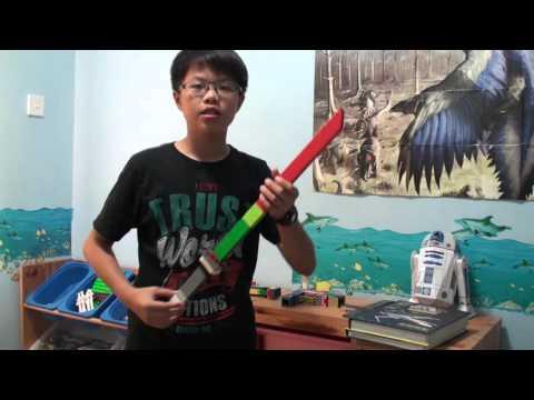 DIY Lego Katana Sword