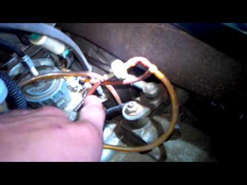 Polaris Trail boss vacuum lines