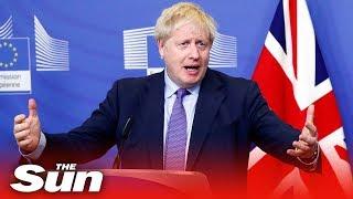 Boris Johnson 'very confident' MPs will back his Brexit deal