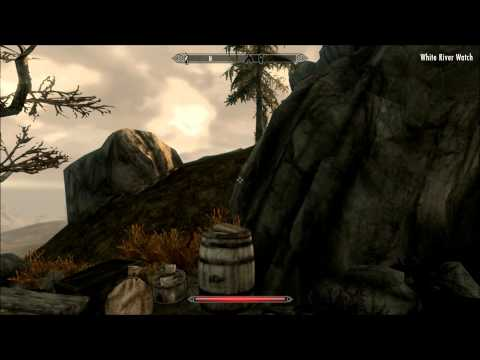 Skyrim - Sneaking and Illusion Level Up Fast Trick