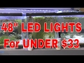 Cheap LED Aquarium Lights for UNDER $33 for a 48