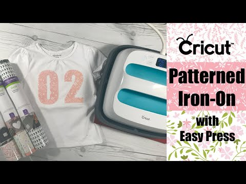 Cricut Patterned Iron On with Cricut Easy Press