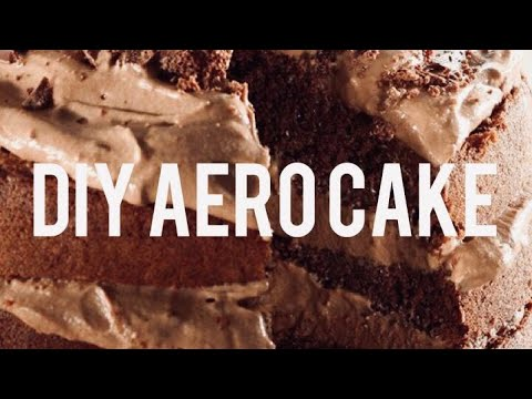 DIY | CHOCOLATE AERO CAKE