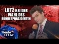 Lutz van der Horst bei der Wahl Steinmeiers zum Bundespräsidenten | heute-show vom 17.02.2017