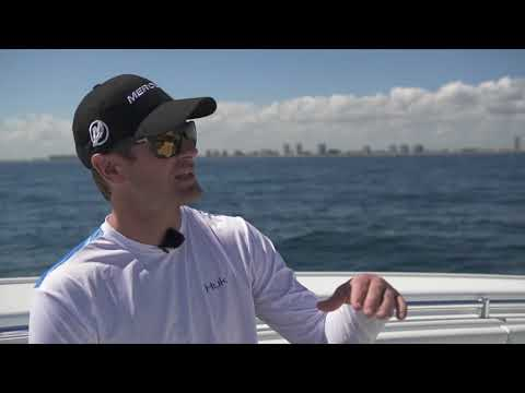 Indy 500 champ's quad Merc rigged Yellowfin