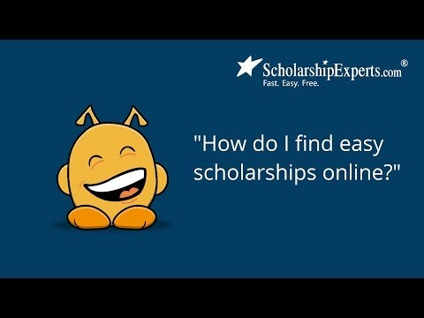 How to Find Easy Scholarships Online