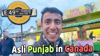 Real Punjab of Canada: Gol Gappe, Amritsari Fish in Surrey!