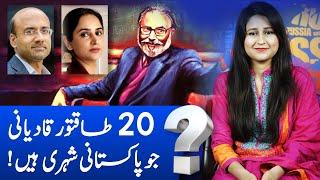 Top 20 Famous Pakistani who are Qadiyani | Zafarullah Khan, Dr Abdus Salam \u0026 Imran Khan's Atif Mian