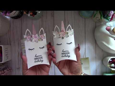 Magical Unicorn Pillow Boxes