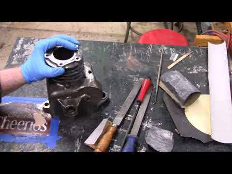 HOMEMADE OVERHEAD VALVE BRIGGS (part 16)