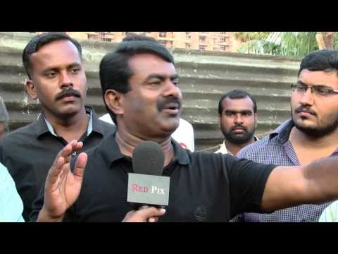 Chennai Corporation Stops Nam Thamizhar Seeman Helping The Flood Victims Of Chennai - Must Watch