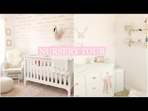 BABY GIRL NURSERY TOUR | Tara Henderson